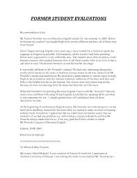 ideas of teaching job letter of recommendation sample about letter