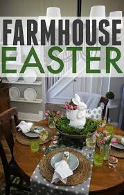 Easter Decorating Ideas For The Home My Spring Dining Room The Creek Line House