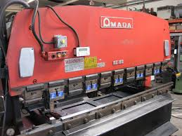 fabrication machinery amada rg 80 up acting cnc hydraulic press