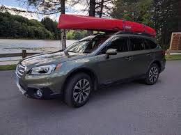 Subaru Forester 2014 Crossbars by Putting A Canoe On 2017 Outback Need Some Help Subaru Outback