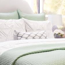 Seafoam Green Comforter Green Quilt And Sham Cloud Seafoam Green Crane U0026 Canopy