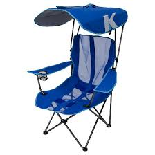 Sports Chair With Umbrella Kelsyus Original Canopy Chair Royal Blue Target