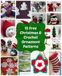 15 free crochet christmas ornament patterns interweave