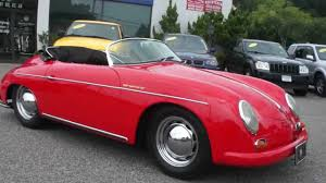 outlaw porsche for sale 1960 porsche speedster replica by intermeccanica for sale youtube