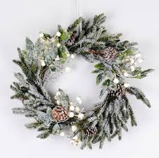 wreath christmas door wreaths notonthehighstreet com
