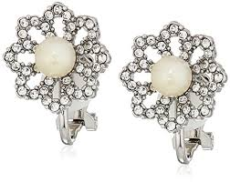 icings earrings carolee icing on the cake clip on earrings jewelry