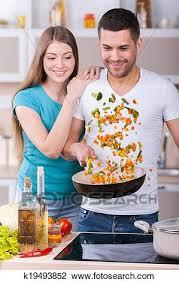 couples amour cuisine banque de photo ils amour cuisine ensemble beau