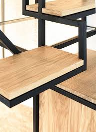 stair of the week combines desk storage and alternating treads in