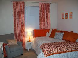 Orange And White Bedroom Dani U0026 Kelly And Tommy Too April 2013
