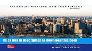 pdf financial markets and institutions the mcgraw hill irwin