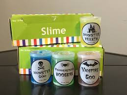 halloween slime classroom treats from wine to whine
