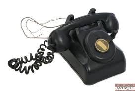 Desk Telephones Desk Crosley Black Classic Kettle Desk Phone Reproduction