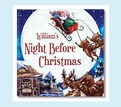 Pottery Barn Kids Books Night Before Christmas Personalized Book Pottery Barn Kids