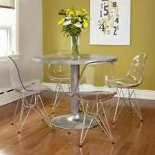 Ghost Dining Chair Ghost Chair Side Chairs Dining Chairs Ebay