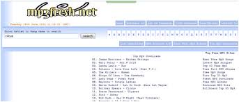 free mp3 without registration legally