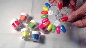 techno color acrylic powder sheba nails youtube