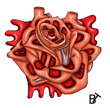 heart rose tattoo design by brain twinge on deviantart