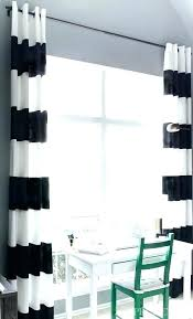 Black And White Stripe Curtains And White Striped Curtains Navy And White Striped Curtains