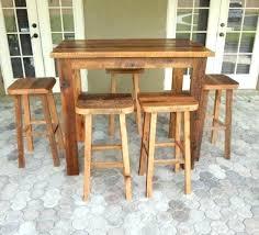 Reclaimed Wood Bar Table Reclaimed Wood Bar Height Table Taag Co