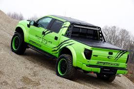 Ford Raptor Super Truck - geigercars garish green ford f 150 svt raptor beast edition