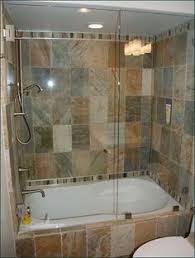 glass door on bathtub bathroom soaker tub shower combo with folding glass door design