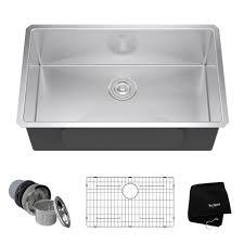 Kitchen Sink Protector Grid Stainless Steel Kitchen Sinks Kraususa Com