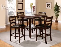 java table 4 chairs 25010 mainline inc counter height dining