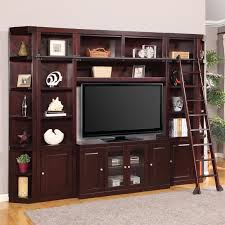 Space Saver Bookcase Parker House Boston Space Saver Library Wall Entertainment Center