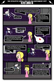 halloween hack earthbound comic the epileptic apple tree of enlightenment hiatus status