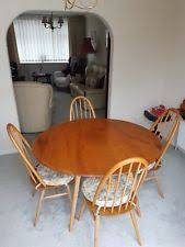 Ercol Dining Table And Chairs Ercol Table And Chair Sets Ebay