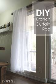 Expensive Curtain Rods Best 25 Branch Curtain Rods Ideas On Pinterest Natural Curtain