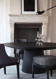 round dining room table for 10 10 gorgeous black dining tables for your modern dining room