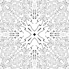 fractal coloring pages kids coloring
