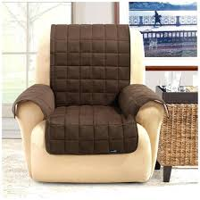 chocolate chair covers sure waterproof quilted suede wing recliner
