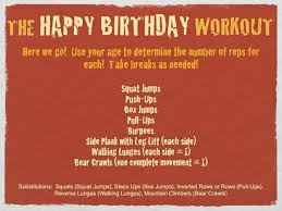 Birthday Workout Meme - happy birthday fitness quotes thinks i like to say pinterest