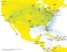 map usa to jamaica where we fly flight schedules flight map spirit airlines