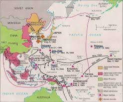Nanking China Map by War In The Pacific
