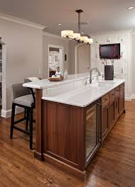 walnut flooring living room traditional with contemporary kitchen