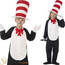 cat in the hat costume child cat in the hat costume book week fancy dress boys kids