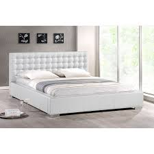 best 25 white leather bed frame ideas on pinterest leather bed