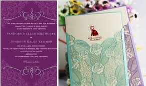 Purple Wedding Invitations 12 Exclusive Purple And Teal Wedding Invitations Only For You