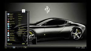 free download themes for windows 7 of car ferrari black windows 7 theme youtube