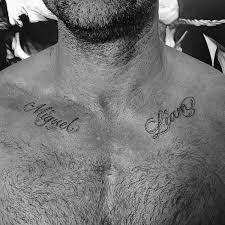 name tattoos simple name design on chest golfian com