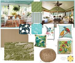 Tropical Accent Rugs Mood Board Interiors By The Sewing Room