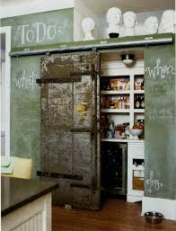 kitchen chalkboard wall ideas want this barn sliding door in my kitchen one day and painted