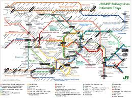Subway Station Map by Japan Railways Train And Subway Maps Nihone