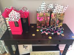 kate spade inspired bridal shower diy treat yourself gift bags