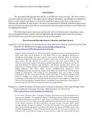 annotated bibliography open source ils