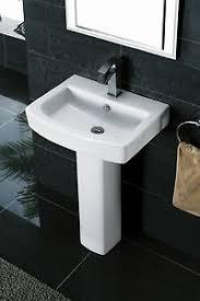 Tidy Square Designer Bathroom Suite Toilet Seat Basin  Ped Tap - Designer bathroom suites