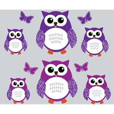 purple and green owl wall decals with butterflies wall decor for purple and green owl tree wall decal with butterflies wall decor for girls rooms